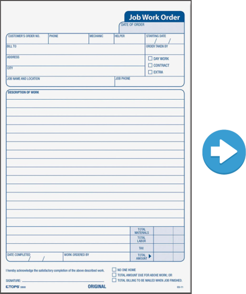 Paper Form into Mobile Form